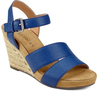 Aerosoles Plainfield Braided Espadrille Wedge Sandal