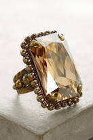 Sorrelli Oblong Crystal Cocktail Ring