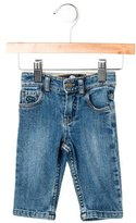 Little Marc Jacobs Girls' Medium Wash Jeans