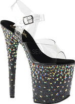 Pleaser USA Women's Starsplash 808 Ankle-Strap Sandal
