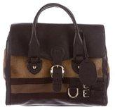 Gucci Heritage Web Boston Bag