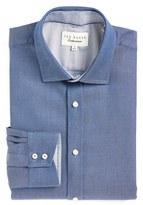 Ted Baker Men's Trim Fit Solid Dress Shirt