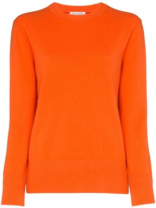 Ply Knits Round Neck Cashmere Sweater