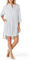 DKNY Striped Boyfriend Sleepshirt