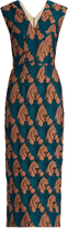 Emilia Wickstead Ferni fil coupé sleeveless dress