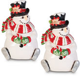 Fitz & Floyd Top Hat Lidded Box Set of 2