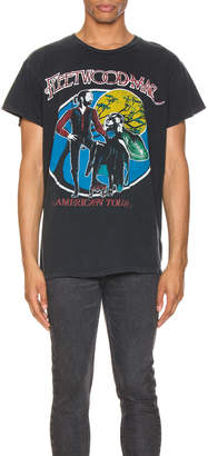 MadeWorn Fleetwood Mac American Tour Crew Tee in Black Pigment | FWRD