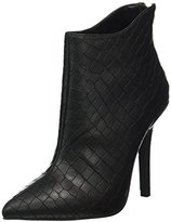 Buffalo David Bitton Women's B334E-41A E0094A Croc PU Ankle Boots,5