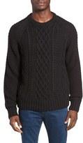 Jeremiah Men's Newport Cable Knit Crewneck Sweater
