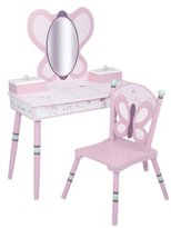 Levels of Discovery Sugar Plum Vanity & Chair Set