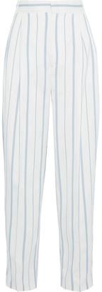 Joseph Linn Striped Twill Wide-leg Pants