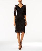 Thalia Sodi Lace Empire Sheath Dress, Only at Macy's