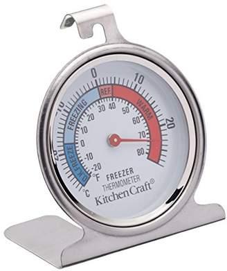 Kitchen Craft Dial-Type Freezer/Fridge Thermometer