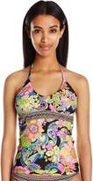 Trina Turk Women's Monaco Scoop Neck Tankini