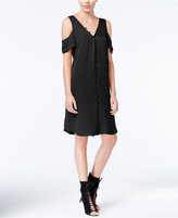Rachel Roy Cold-Shoulder Shift Dress, Created for Macy's