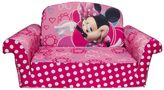 Spin Master Toys Spin master Disney Mickey Mouse & Friends Minnie Mouse Marshmallow 2-in-1 Flip Open Kids Sofa by Spin Master