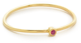 Jennifer Meyer Jewelry 18k Gold Thin Ruby Ring
