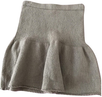 Jucca Camel Wool Skirts