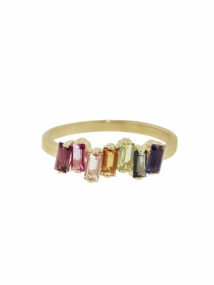 Suzanne Kalan Uneven Rainbow Ring - Yellow Gold