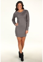 Rip Curl Out Of Line Bodycon Dress (Steel Grey) - Apparel