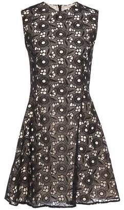 Victoria Beckham Flared Guipure Lace Mini Dress