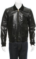 Marc Jacobs Suede-Trimmed Leather Jacket