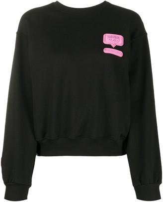 Chiara Ferragni Patch-Embellished Sweatshirt