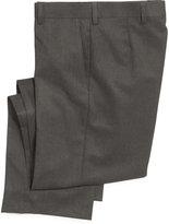 Lauren Ralph Lauren Husky Boys' Solid Grey Suiting Pants