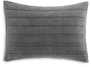 Vera Wang Shadow Stripe Horizontal Channel Decorative Pillow, 12 x 16