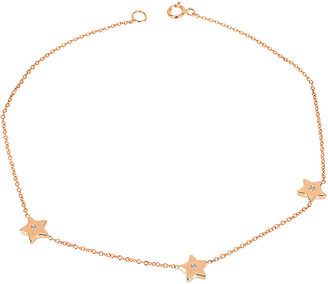 Ariana Rabbani 14K Rose Gold Diamond Bracelet