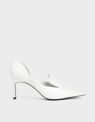 Charles & Keith D'Orsay Loafer Pumps