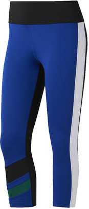 Nike Womens WOR Colourblocked Capri Tights