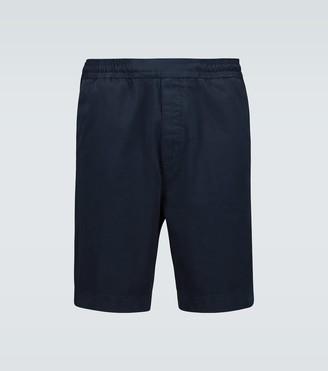 Acne Studios Ruben cotton twill shorts