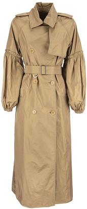 Max Mara SABRINA - Silk taffeta trench coat
