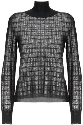 Chloé Geometric Knitted Top