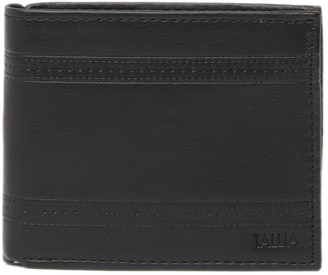 Tallia Bifold Leather Wallet with Embossed Pattern
