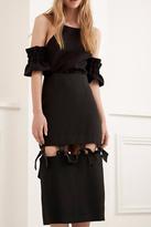 C/MEO COLLECTIVE Statement Midi Skirt
