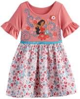 Disney Disney's Elena of Avalor Toddler Girl Graphic Floral Dress