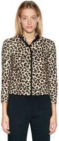 N°21 Animalier Cotton Canvas Jacket