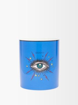 Gucci Star Eye Inventum-scented Triple-wick Candle - Blue Multi