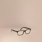 Burberry Rectangular Optical Frames, Brown