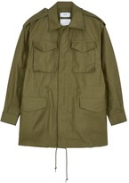 Hyke M-51 Olive Cotton Jacket