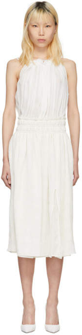 Altuzarra White Vivienne Dress