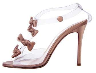 new products 0ef66 ebf28 Satin Bow Sandals