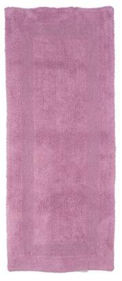"""Yorkshire Home Solid Reversible Long Bath Rug 24""""x 60"""""""