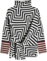 Etro Printed Wool Turtleneck Pullover