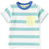 Joules Baby/Little Boys 12 Months-3T Olly Striped Short-Sleeve Pocket Tee