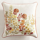 Pier 1 Imports Orange & Yellow Floral Pillow