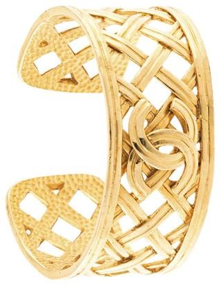 Chanel Pre Owned CC Logos Bangle