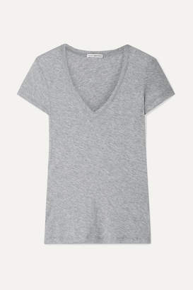 James Perse Casual Slub Supima Cotton-jersey T-shirt - Gray